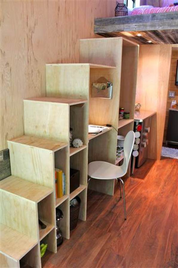College Student Builds 145 Sq. Ft. Tiny House-005
