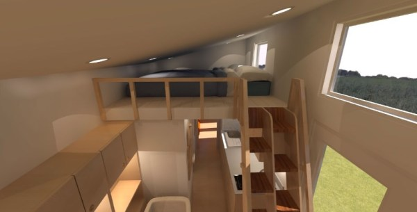 Comptche 24 Tiny House on Wheels 004