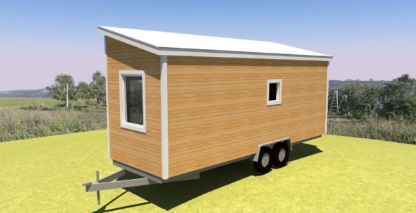 Comptche 24 Tiny House on Wheels 009