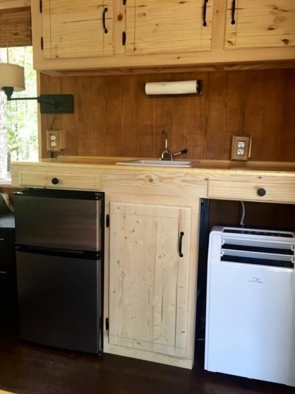 Converted Cargo Trailer Tiny House 008