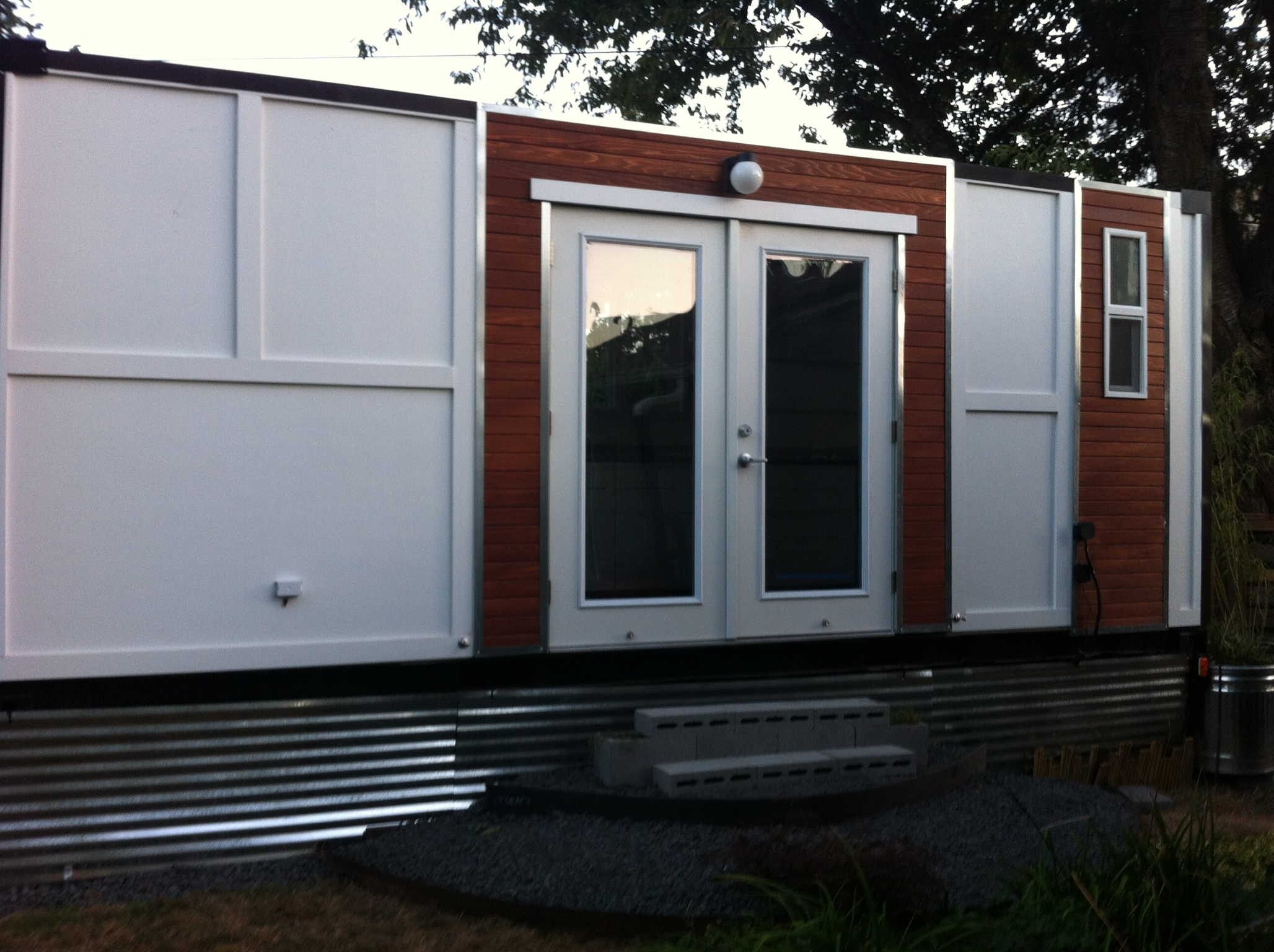 Converted Shipping Container On Wheels For Sale OR