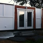 Converted Shipping Container on Wheels 4