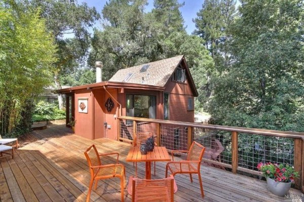 496 Sq. Ft. Tiny Cabin in California