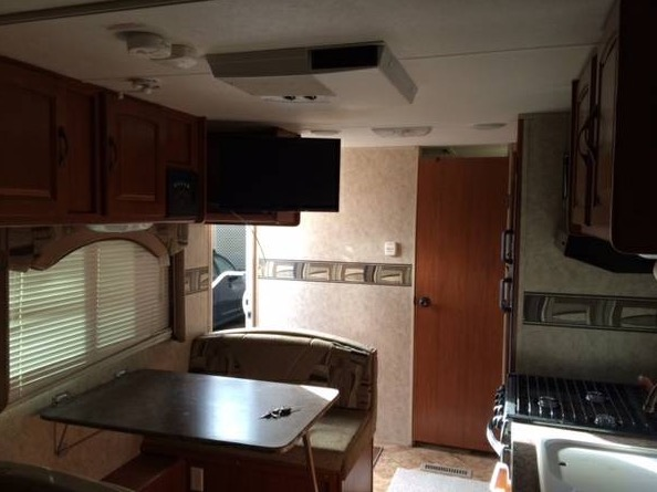 Couple Renovate Travel Trailer into Nomadic DIY Tiny Home 003