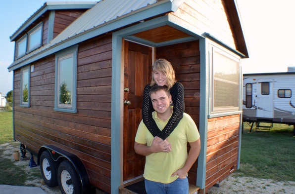 Couples DIY Tumbleweed Tiny House in Ausitn 001