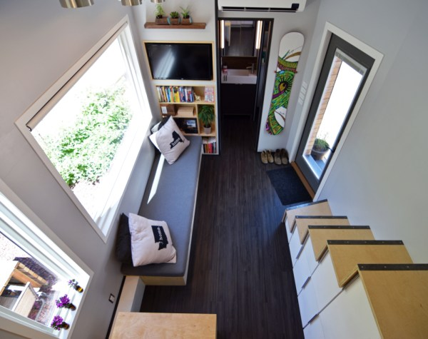 Couples Finished SHEDsistence Tiny Home 0021