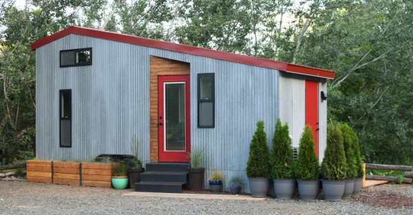 Couples Finished SHEDsistence Tiny Home 0029