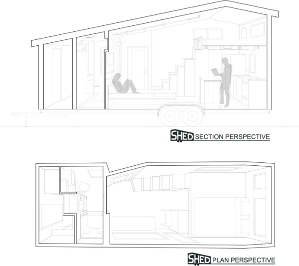 Couples Finished SHEDsistence Tiny Home 0034
