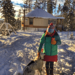 Couple's Off-Grid Life in Montana Yurt and Tiny House 3