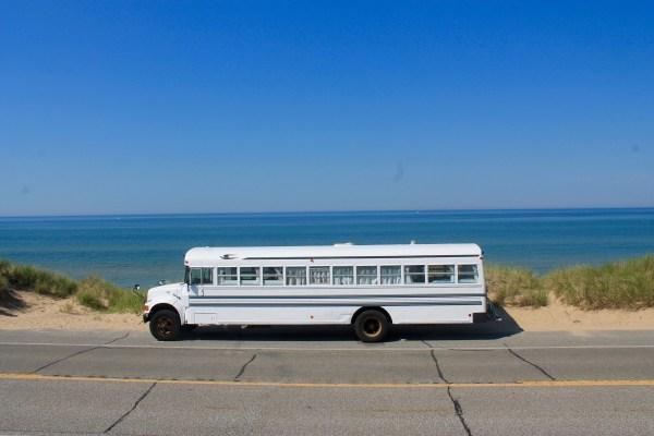 Couples School Bus Tiny Home 001