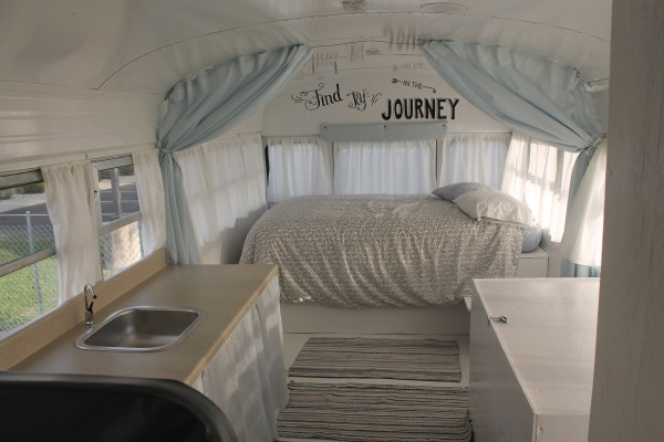 Couples School Bus Tiny Home 008