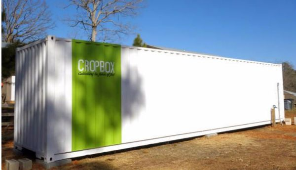 CropBox High Tech Shipping Container Greenhouse Farm 01