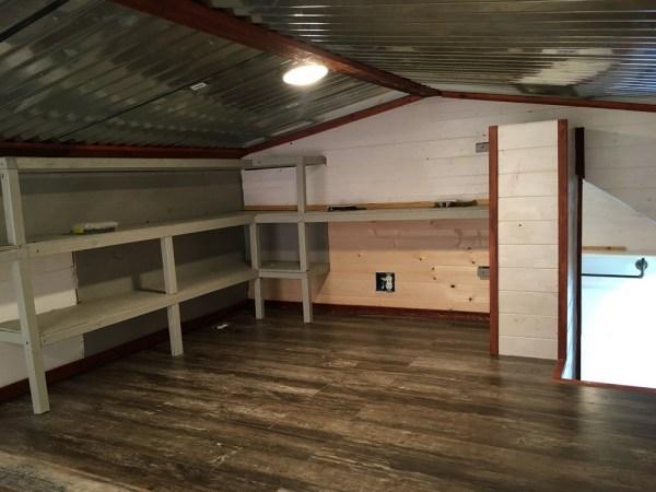 Custom 24ft Tiny Home with Oversized Loft 0012