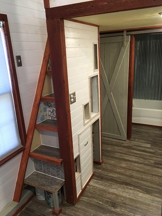 Custom 24ft Tiny Home with Oversized Loft 008