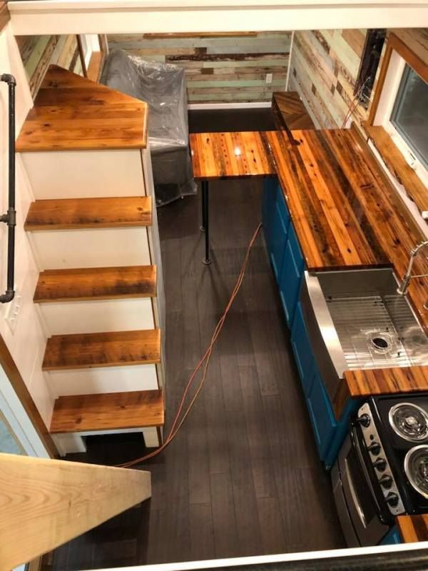 Custom Tiny House by Wasted Time LLC 006