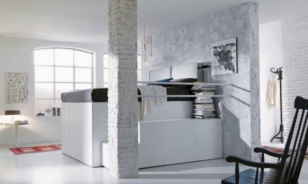 Dielle Space Saving Bed Walk In Closet 007