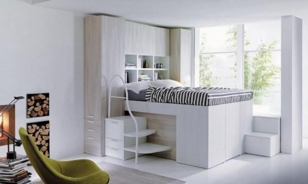 Dielle Space Saving Bed Walk In Closet 008
