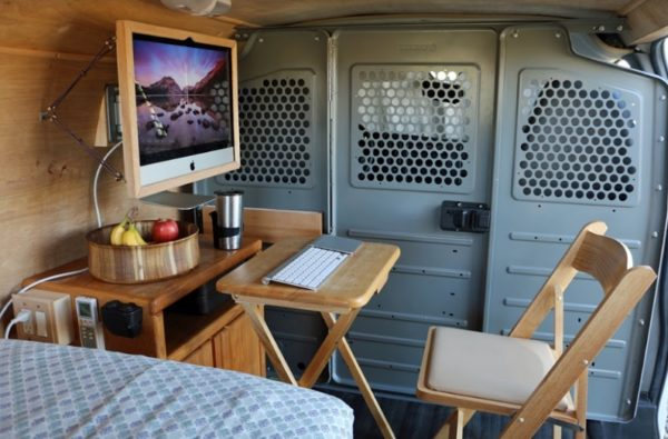 Digital Nomads Cargo Van Conversion