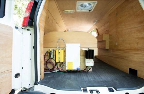 Digital Nomad's Cargo Van Conversion
