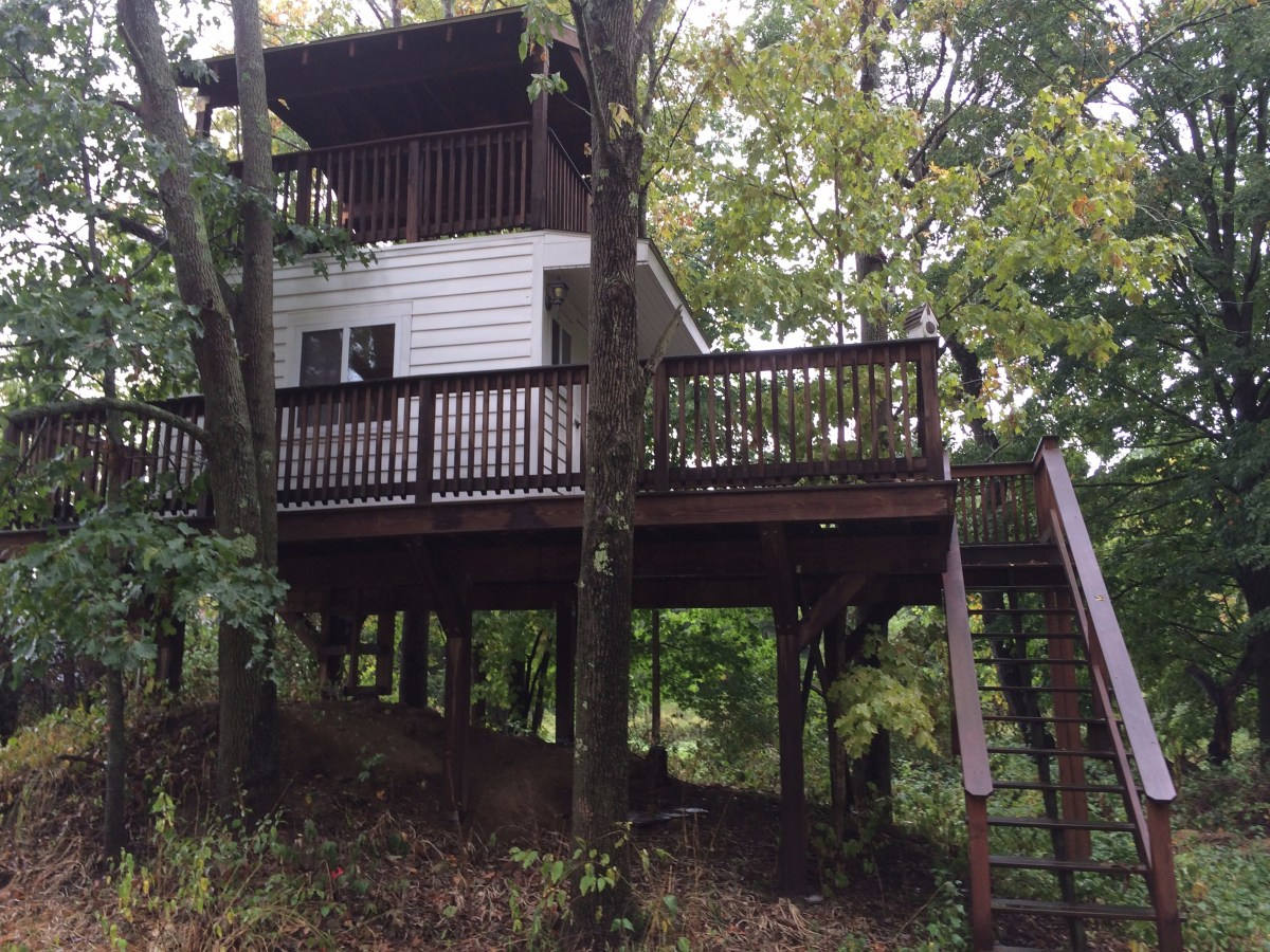 Disassembled tree house in weston ma for sale 7 5k for Texas hill country cottages for sale