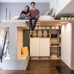 Domino Loft Multifunctional Tiny Apartment by ICOSA and Peter Suen 001