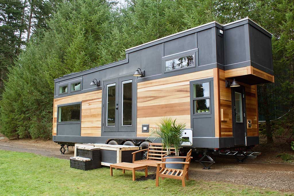 Tiny Home Designs: The Big Outdoors Tiny House By Tiny Heirloom