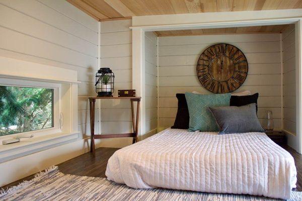 Double Loft Luxury Big Outdoors Tiny House by Tiny Heirloom 0013