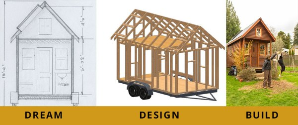 Tiny House Dream Design Build Bundle from PAD Tiny Houses