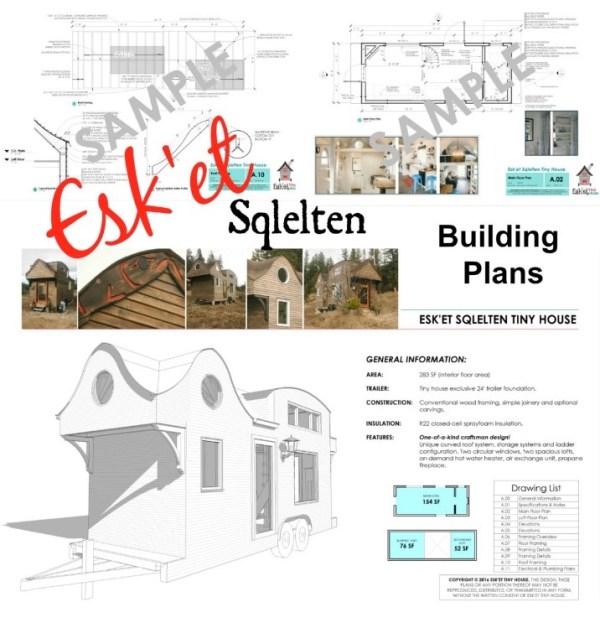 Esk'et Tiny House Building Plans 001