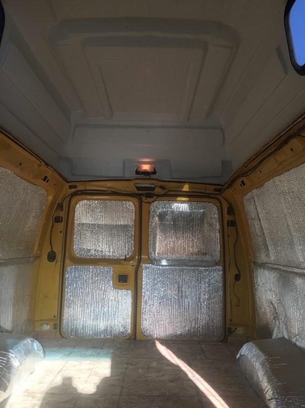 Evan's DIY Conversion Van Tiny Home 0021