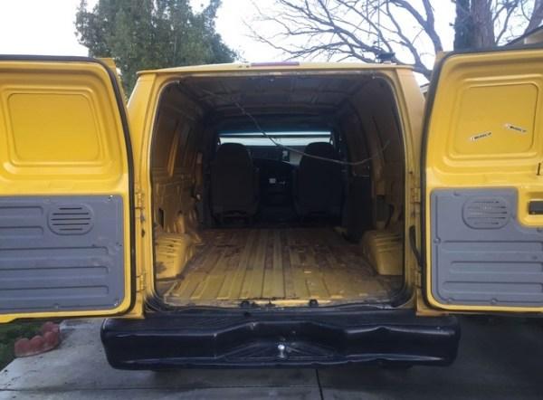 Evan's DIY Conversion Van Tiny Home 003