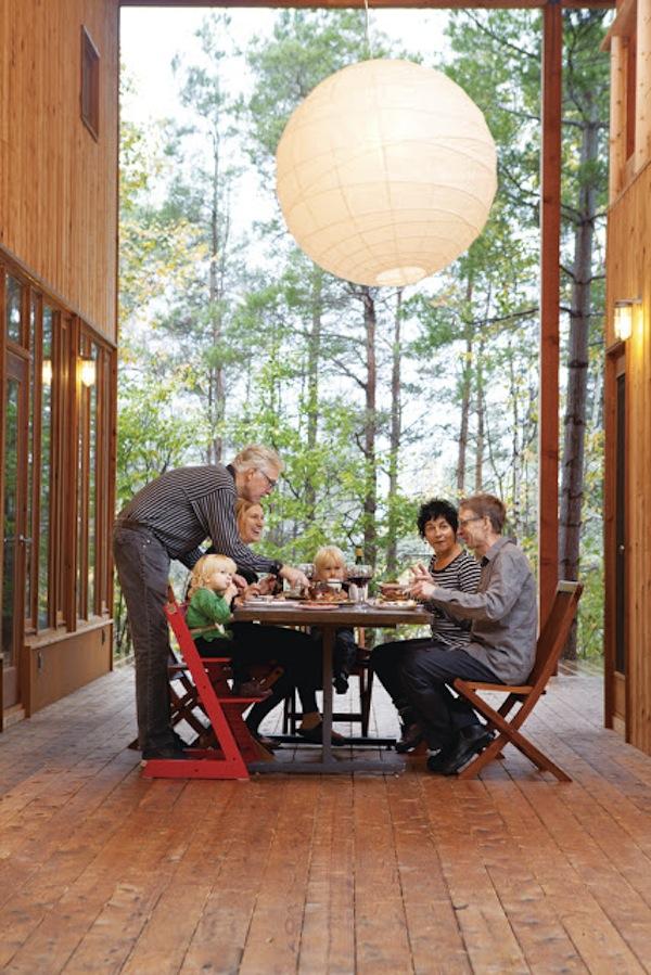 Small Cabin Gathering Tiny House Community