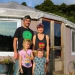 Family of 4 living in an off grid yurt – Exploring Alternatives 3