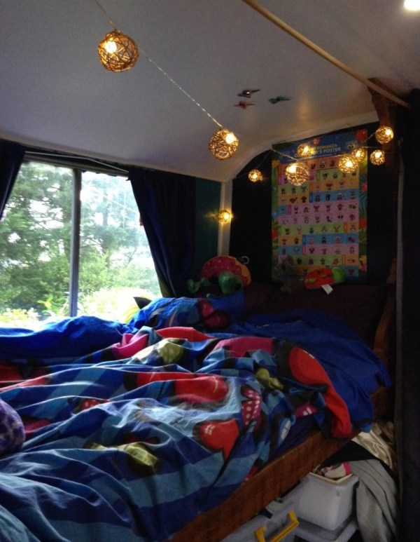 Family of Fours Bus Tiny Home 008