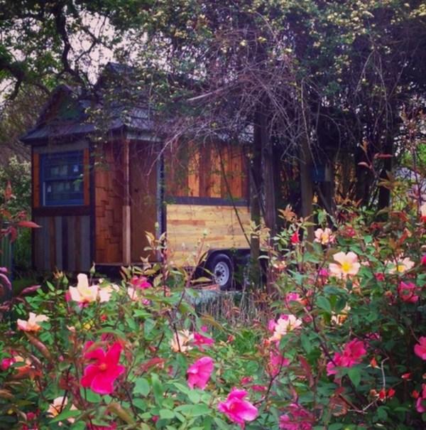 Family of Three's Adventure Tiny House on Wheels 0031