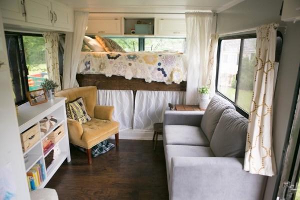 Familys Bus Tiny Home 0038