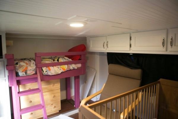 Familys Bus Tiny Home 008