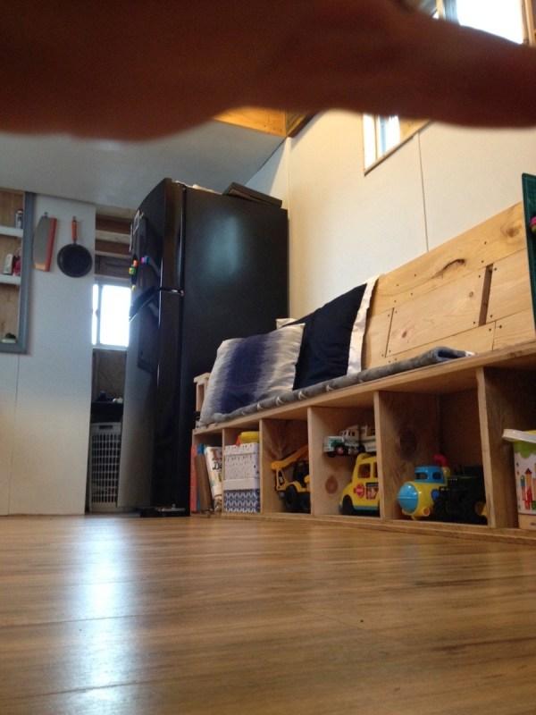 Familys DIY 8k Tiny House on Wheels 008