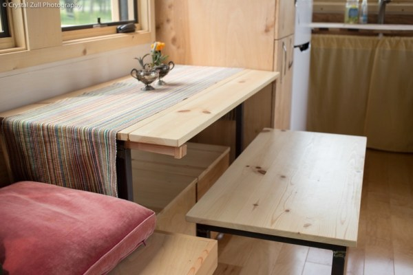 Family's Life in their Beautiful Tiny Home 005