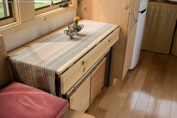 Family's Life in their Beautiful Tiny Home 006