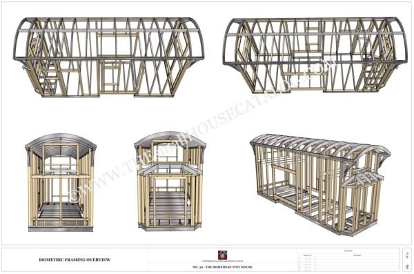 free tiny house plans bohemian thow 006 - Tiny House Plans On Wheels Free