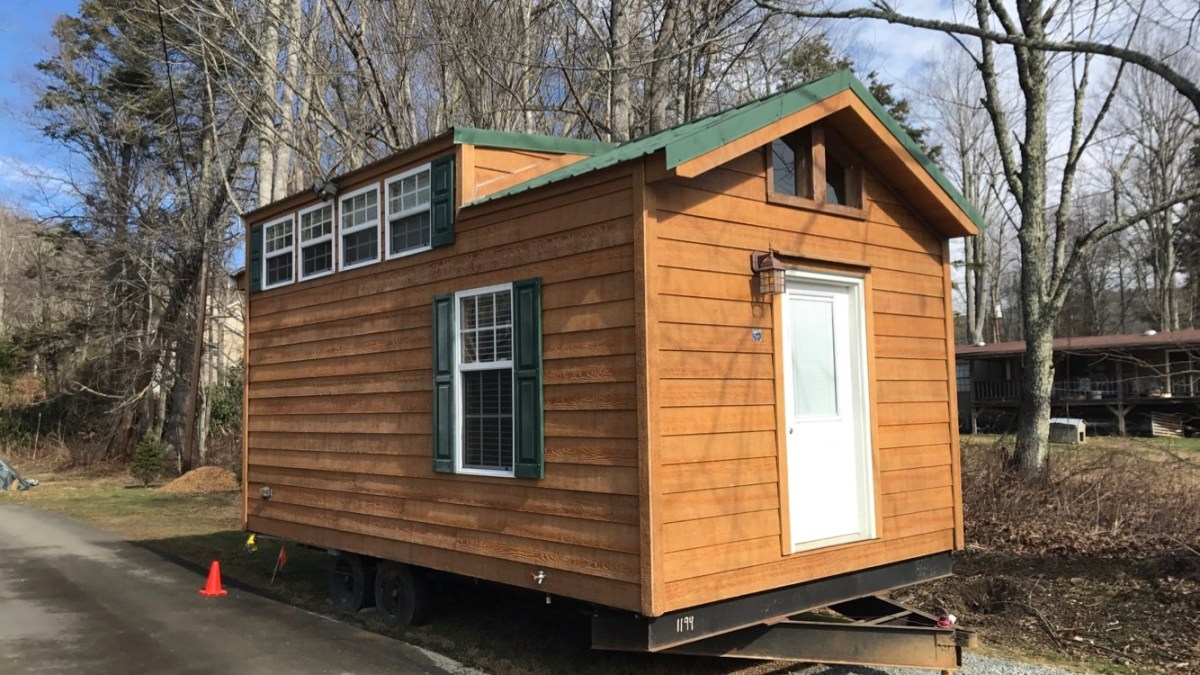 12 Wide Tiny House On Wheels For Sale In Nc