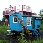 Funky, Creative, and Dangerous DIY Gypsy Wagon Cabin