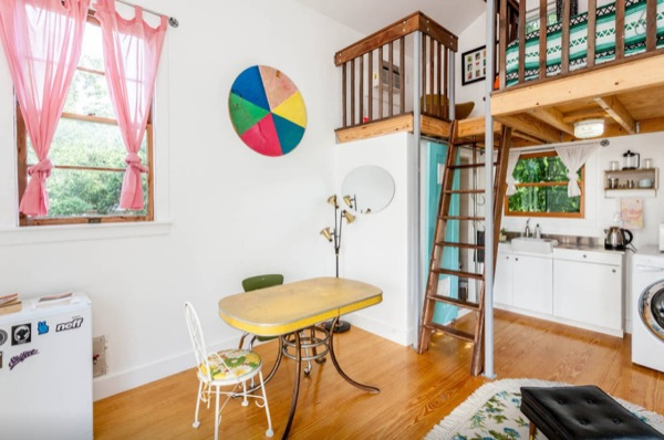 Tiny Home Designs: Funky Loft Studio In Austin, TX