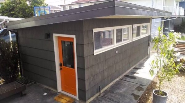 Garage Converted into a Tiny House Now For Sale