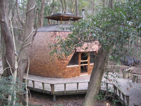 Geodesic Domes at Hostel Forest 007