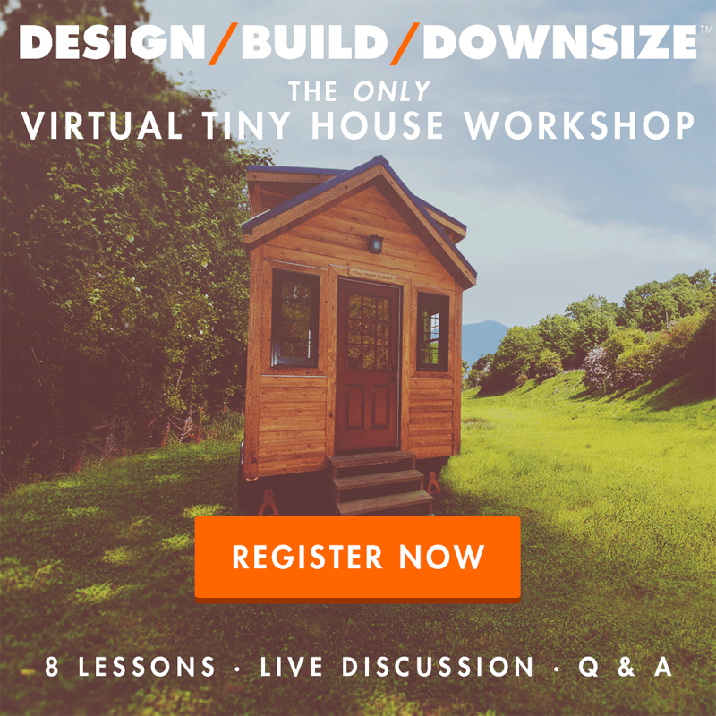 Design build downsize virtual tiny house workshop for Virtual home builder free