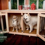 Handmade Dog Crate Tables by Backcountry Tiny Homes 001
