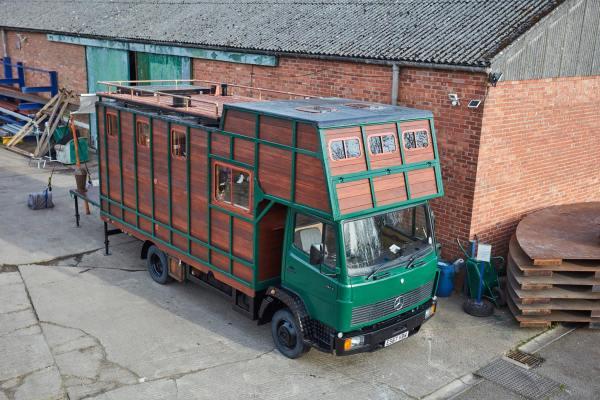 Helga Tiny House Truck Conversion by House Box 0041