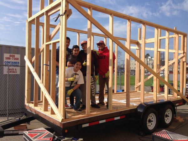 High School Student Built 100 Square Foot Tiny Home 0010